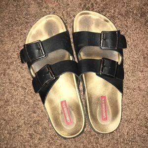 Birkenstock look alike sandals ✨